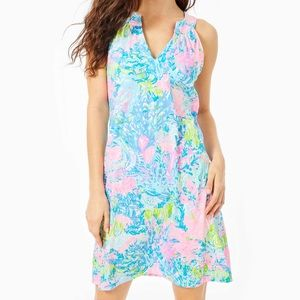 Lilly Pulitzer Multi Fished My Wish Ross Dress NEW